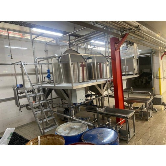 Ketchup and mayonnaise filling and production line