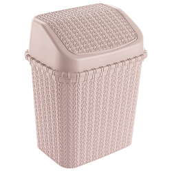 KNIT TRASH CAN