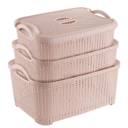 KNIT TRIPLET CRATE SET
